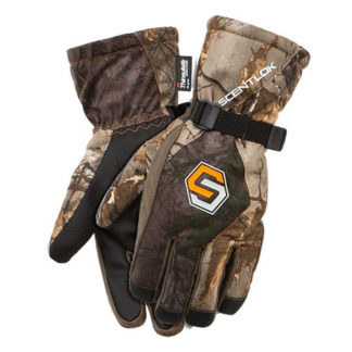 Scentlok Waterproof Insulated Gloves Realtree Edge 80337