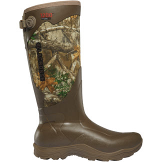 Lacrosse Alpha Agility Rubber Boot Realtree Edge 1200G 302442 Footwear