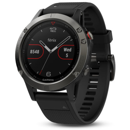Garmin Fenix 5 Black GPS Watch 010-01688-00