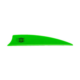 "Bohning X Vane 3"" Shield Cut Green"