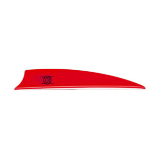 "Bohning X Vane 3"" Shield Cut Neon Red"