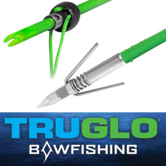 TruGlo Bowfishing Arrow Spring Fisher TG140S1G