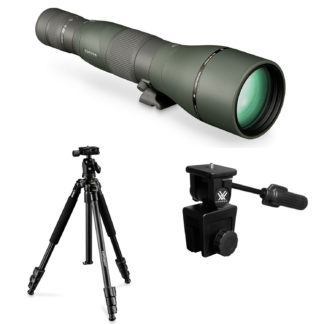 Vortex Razor HD 27-60x85wa Spotting Scope Straight RS-85S