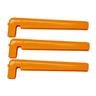 Bohning Tower Arms 1 degree Left Helical Arms Orange 601037
