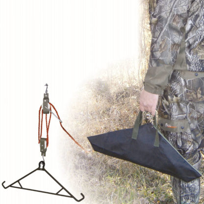 HME Products Game Hanging 4 in 1 Game Hoist Gambrel HME-GHG-4