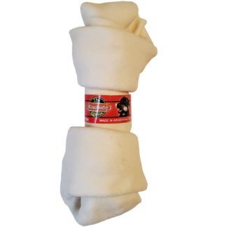 Lennox Rawhide Natural Knotted Bone Dog Chew 8-9 Inch