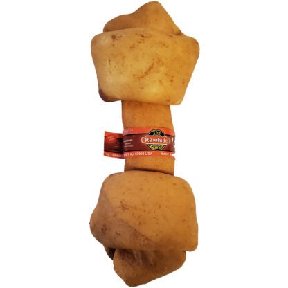 Lennox Rawhide Hickory Knotted Bone Dog Chew 10-11 Inch