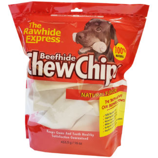 Lennox Rawhide Chew Chips Beefhide Natural