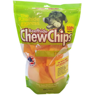 Lennox Rawhide Chew Chips Beefhide Pizza Flavor