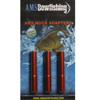 AMS Bowfishing Nock Adapters M113-RED