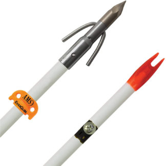 AMS Bowfishing Chaos QT Arrow A208-WHT