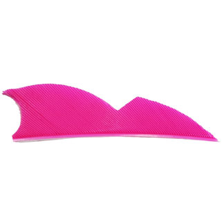 Gateway Feathers 2 Inch Right Wing Batwing Flo Pink 200RNSFP-100