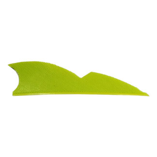 Gateway Feathers 2 Inch Right Wing Batwing Lemon Lime 200RNSLL-100