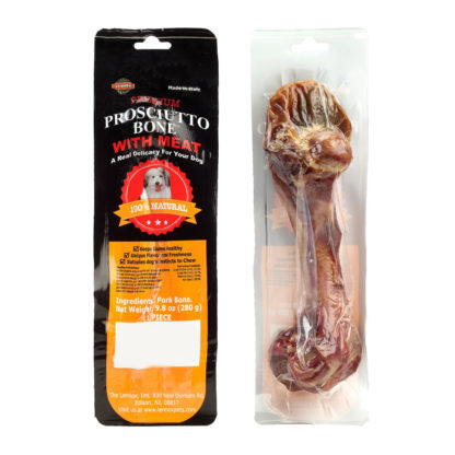 Lennox Rawhide Prosciutto Pork Dog Bone X-Large