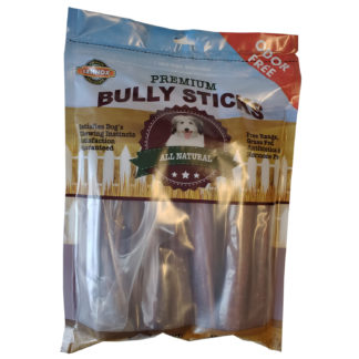Lennox Rawhide Premium Bully Sticks Odor Free 8oz