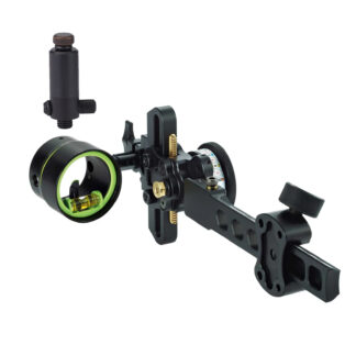 HHA Sports Tetra Max Tournament 1 Pin Sight Right Hand TMX-TE-5519
