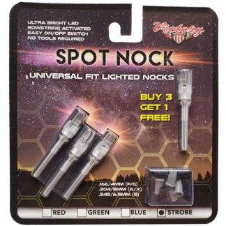Victory Archery Spot Nock Strobe Lighted Nock ACNSLSB-4
