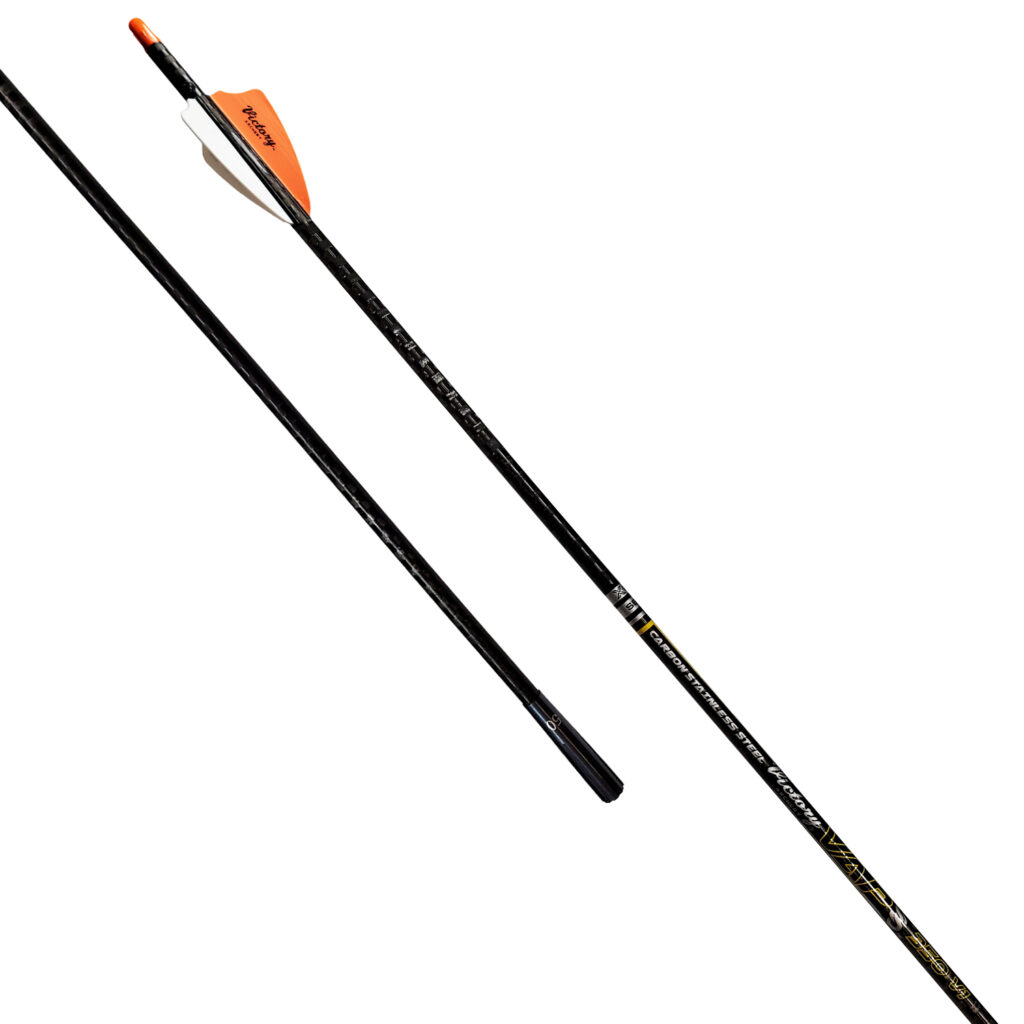 Victory Archery Arrows VAP SS Elite Hunting Arrow .166 ID Fletched Arrow 6 Pack VAPSSE