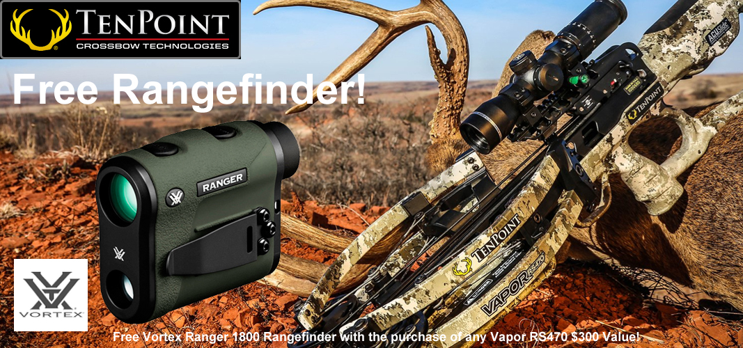 Ten Point Vapor RS470 with Free Rangefinder
