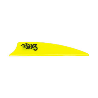 Bohning X3 Vane Bright Yellow
