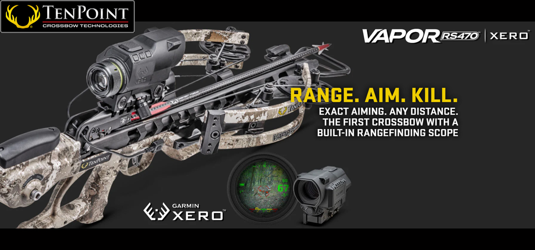 TenPoint Crossbow Vapor RS470 Garmin Xero X1i Scope Veil Camo CB2004-6379