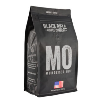 Black Rifle Coffee Murdered Out Ground 12oz