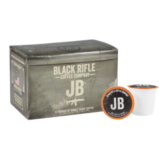 Black Rifle Coffee Just Black Rounds 12 Pack