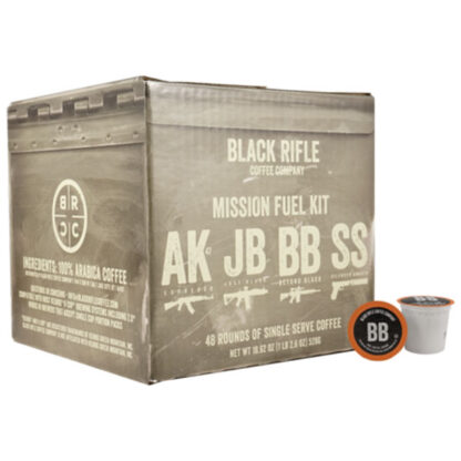 Black Rifle Coffee Mixed Coffee Rounds 48 Pack