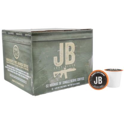 Black Rifle Coffee Just Black Rounds 32 Pack
