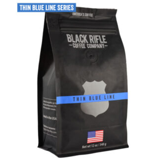 Black Rifle Coffee Thin Blue Line Ground 12oz
