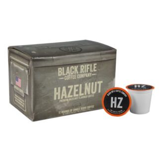 Black Rifle Coffee Hazelnut Flavored Coffee Rounds
