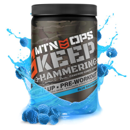 Mountain OPS Keep Hammering Pre-Workout Blue Raspberry