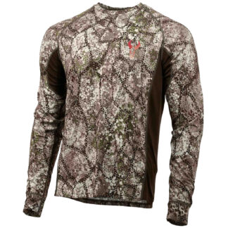 Badlands Algus Long Sleeve Crew Approach