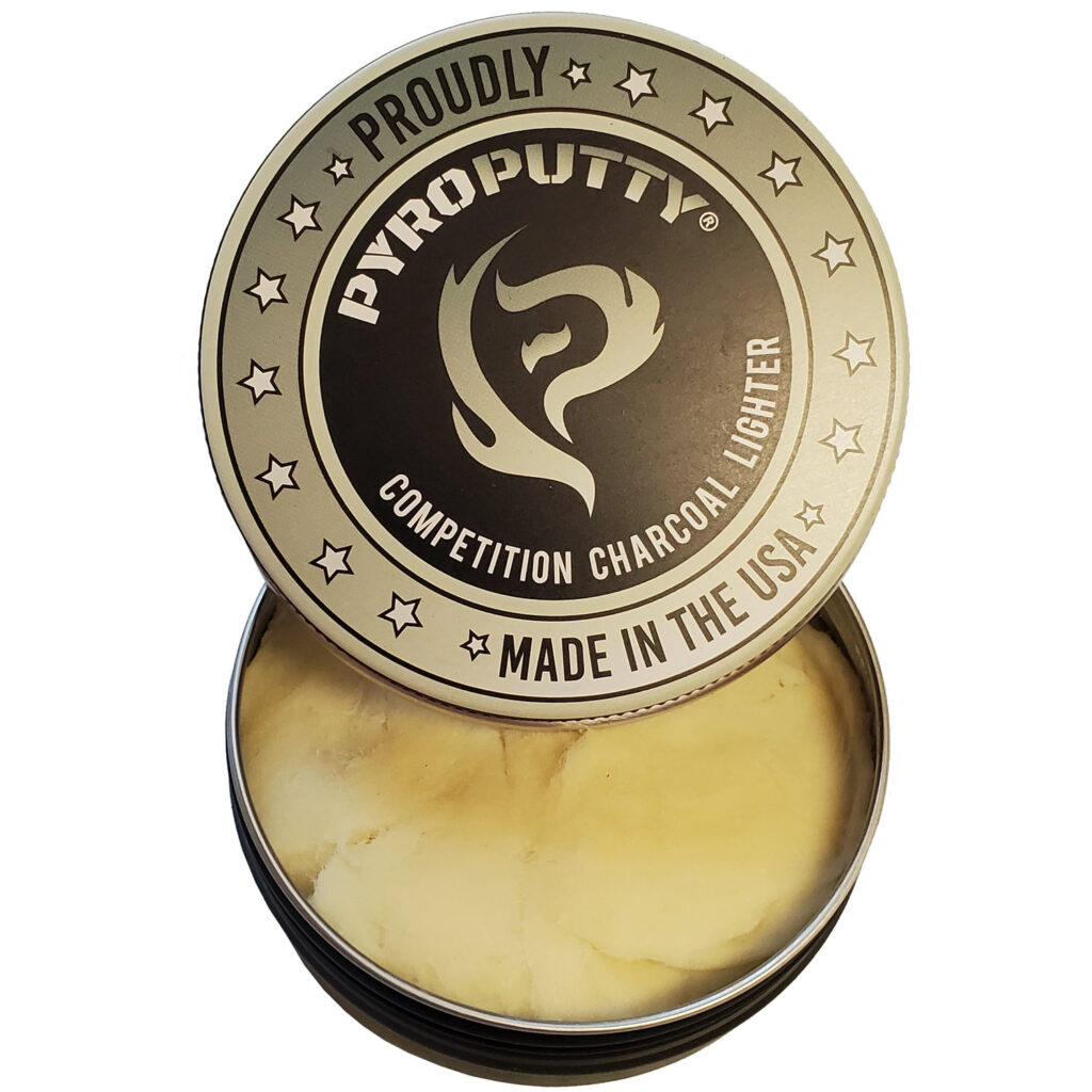Pyro Putty Fire Starter Competition Charcoal Lighter 8oz PP8OZC
