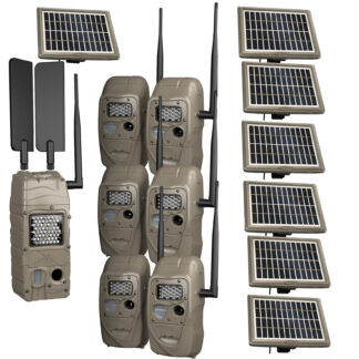 Cuddeback Cuddelink Verizon Cell Starter Kit 2+1 Model 11544 w 3 Solars