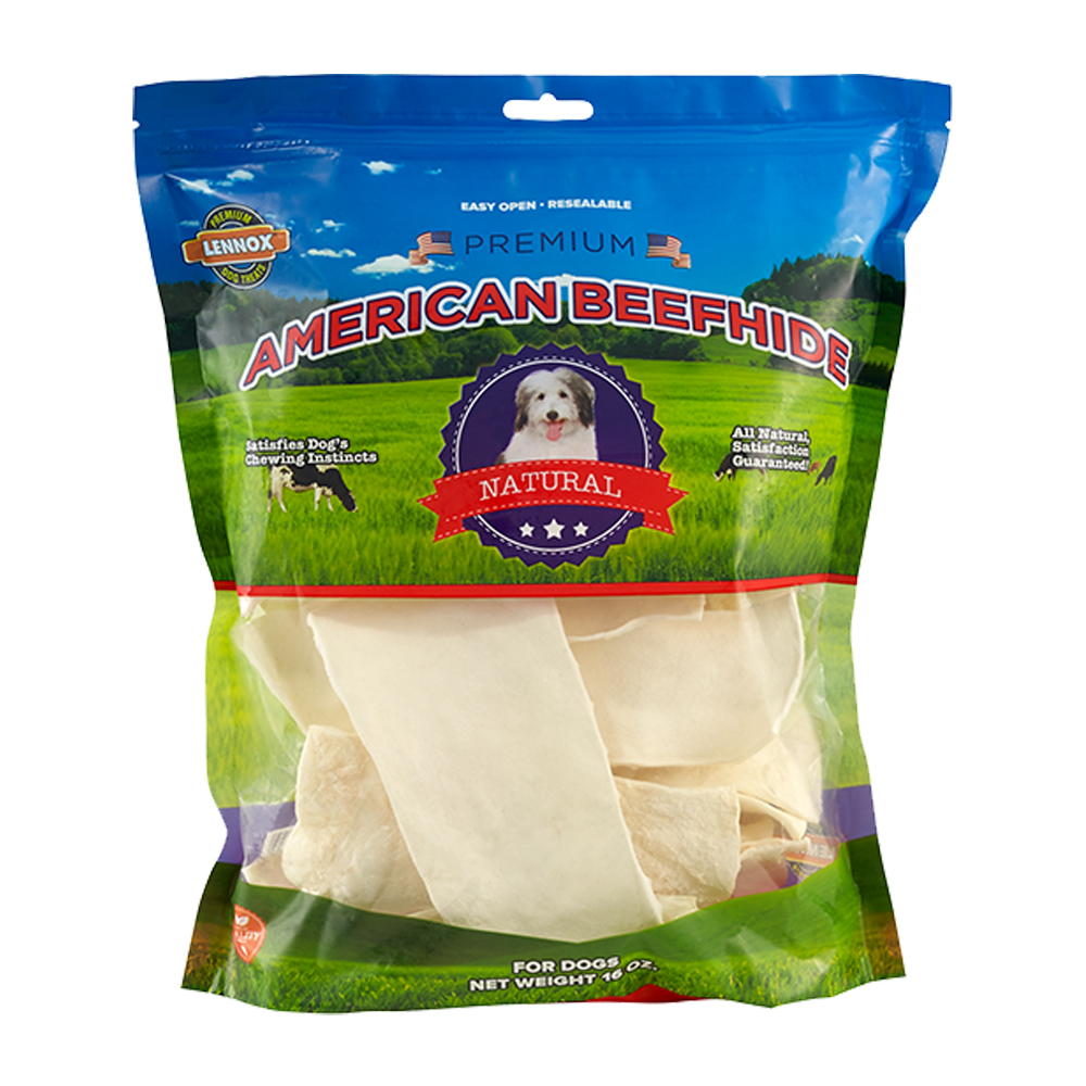 Lennox Rawhide Express Chips 1lb Bag American Beefhide