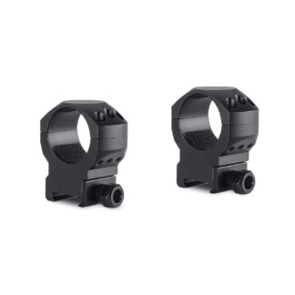 Hawke TACTICAL RING MOUNTS 30MM 2 PIECE WEAVER HIGH 24117